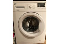 BEKO washing machine in immaculate condition (7kg, 1400 spin speed)
