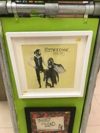 Vinyl Record Fleetwood Mac Rumours Framed