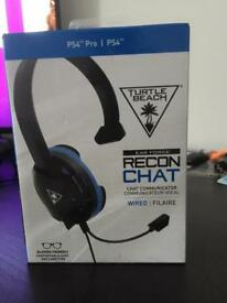 Turtle beach recon chat headphones for PlayStation