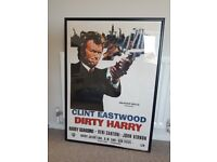 Clint Eastwood/Dirty Harry Poster (Framed)