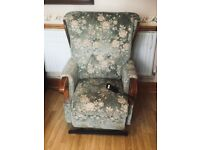 Floral Reclining Chair