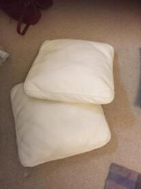 Leather Scatter Cushions