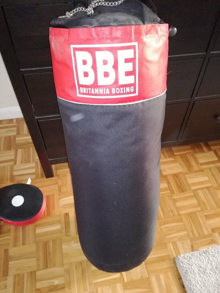 BBE Punch bag, Gloves and Pads.