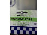 Festival of Speed Ticket Sunday