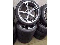 Bmw Ac Schnitzer iv 18'' Alloy Wheels Can Post Part Exchange Welcome can sell singles