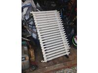 X2 cast iron radiators with feet