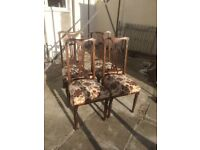 4 Chairs for painting