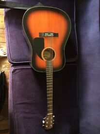 Fender acoustic CD 60 (used) with soft case