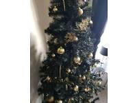 xmas tree 6ft black