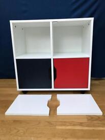 Aspace quadrant children's roll-out storage unit