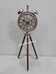 Nautical Style Table Top Desk  Clock  Collectible Watch  Home Decorative