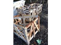 hard wood box pallets £15 each