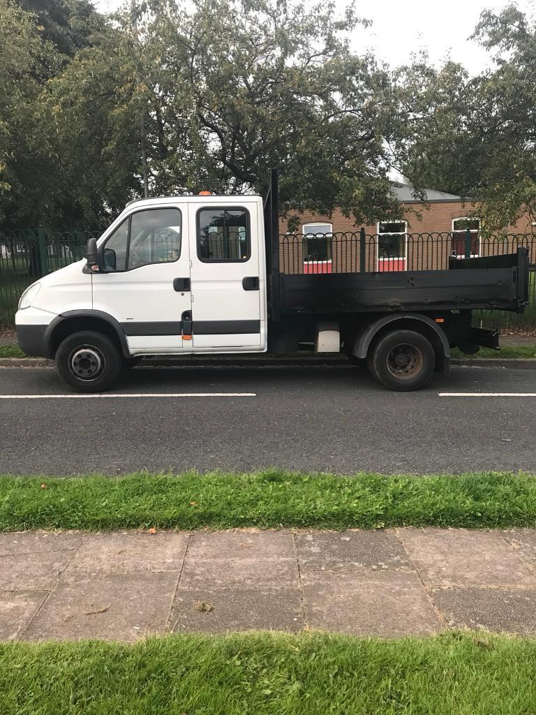 Iveco 65C18 crew cab tipper very tidy truck 57 plate 6.5 ton