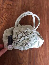 Green handbag top shop