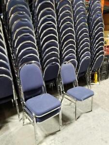chaise banquet restaurant église salle de réception conférence à 25$ chacune
