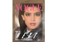 Vouge 1982 magazine