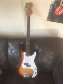 Encore Blaster Bass Guitar - £50