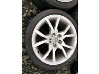 18 inch Audi Alloy wheels