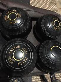 Taylor Elite bowls size2, x4