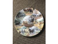 Wedgwood 'through field and furrow' country days plate