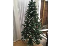 6ft Christmas tree decorations
