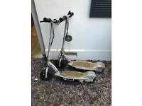 Two electric scooters spare or repair