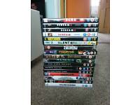 Selection of DVDs selling seperately