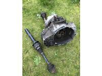 Mk5 golf gt tdi gear box (6 speed) BKD