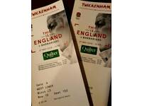 England v barbarians rugby tickets