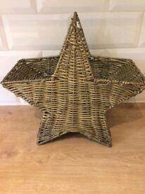 Star shape basket