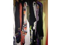 HUGE BUNDLE OF BOY/GIRL/WOMENS CLOTHING (INCLUDING 11 YO SUIT) (50P/ITEM)