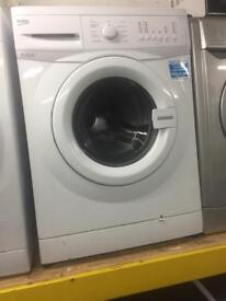 BEKO white good looking 6kg 1200spin washing machine cheap