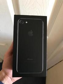 iPhone jet black unlocked brand new