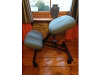 kneeling chair / stool to help posture while working at a desk, collection only