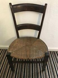 Vintage old chair