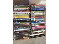 Disney and children's classics on DVD, includes Harry Potter, Cinderella, simpsons - job lot