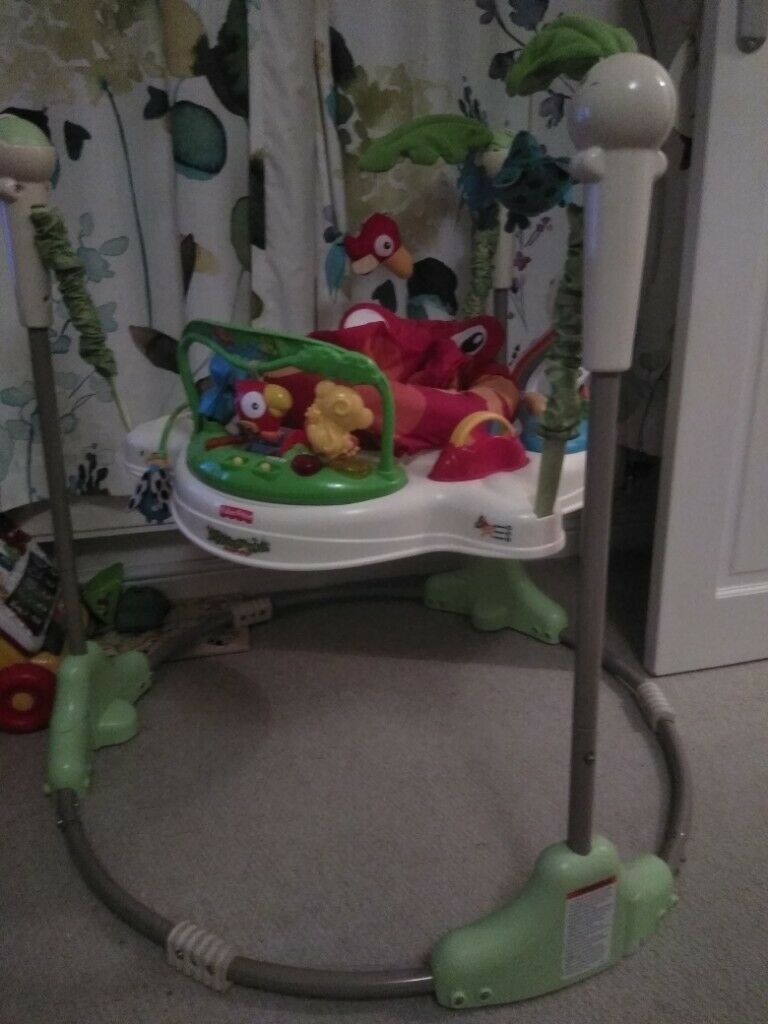 e62a009c6c9f Rainforest Jumperoo by Fisher Price. Great condition.