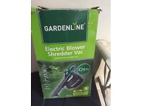 GARDEN VAC / BLOWER very powerful!! tried once