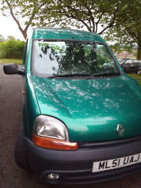 Renault Kangoo, good condition, MOT, available end of August