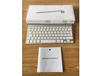 Apple 1st Generation Wireless Bluetooth Keyboard UK Layout