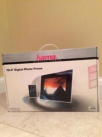 "Digital Photo Frame - Hama 10.4"". Brand New"