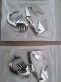 Chrome Metal Car Badges