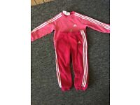 Girl's adidas tracksuit