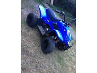 Kids 50cc auto quad Rev and go restrictible speed not lt50 pit bike