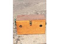 Small wooden pet carrier