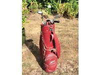 Slazenger Golf Bag and clubs
