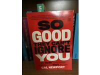 Book: So good they can't ignore you