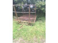 14ft bale trailer £100