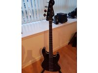Fender Aerodyne Bass Guitar (Black)