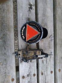 Pub bottle opener and bass logo
